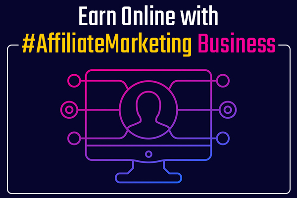 Earn Online with #AffiliateMarketing Business cover