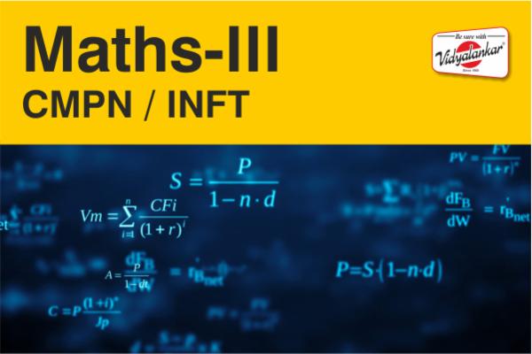 Maths-III (CMPN/ INFT) cover