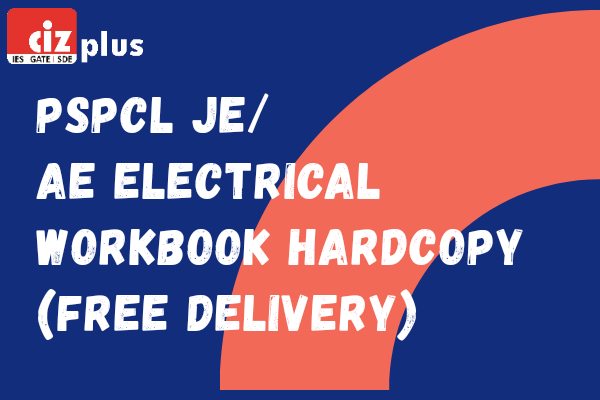 PSPCL JE/AE Electrical Workbook Hardcopy (Free Delivery) cover