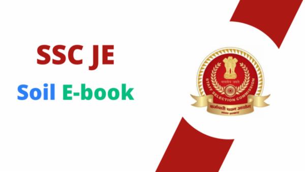 SSC JE Soil PDF cover