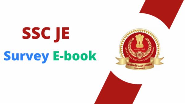 SSC JE Survey PDF cover