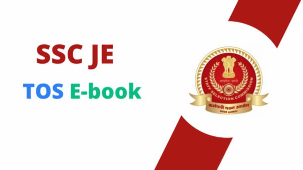 SSC JE TOS PDF cover
