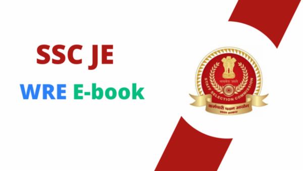 SSC JE WRE PDF cover