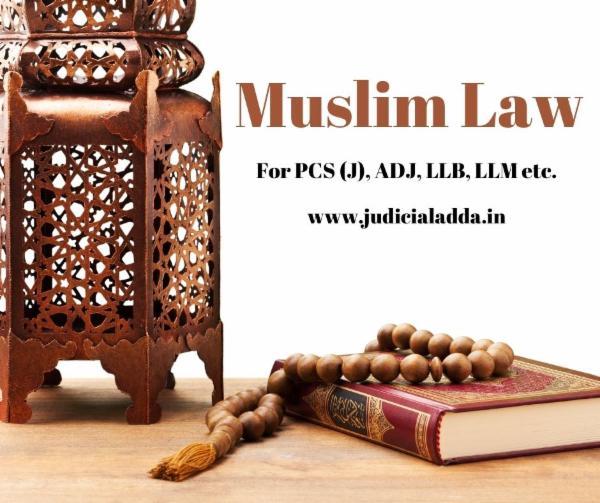Muslim Law cover