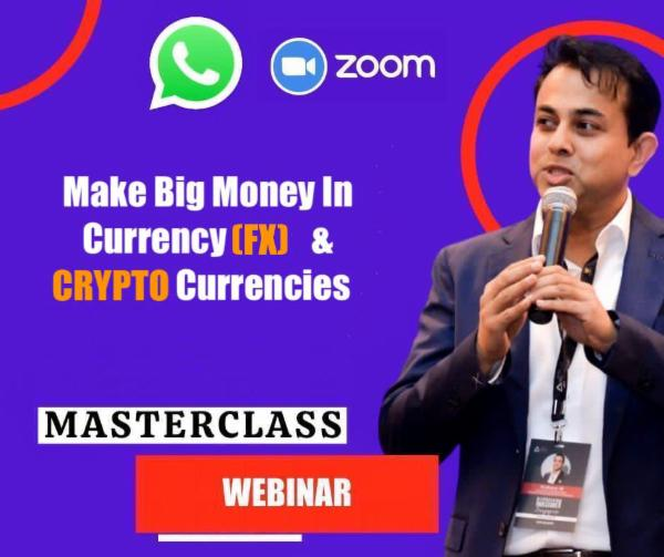MAKE BIG MONEY IN CURRENCY & CRYPTOCURRENCY cover