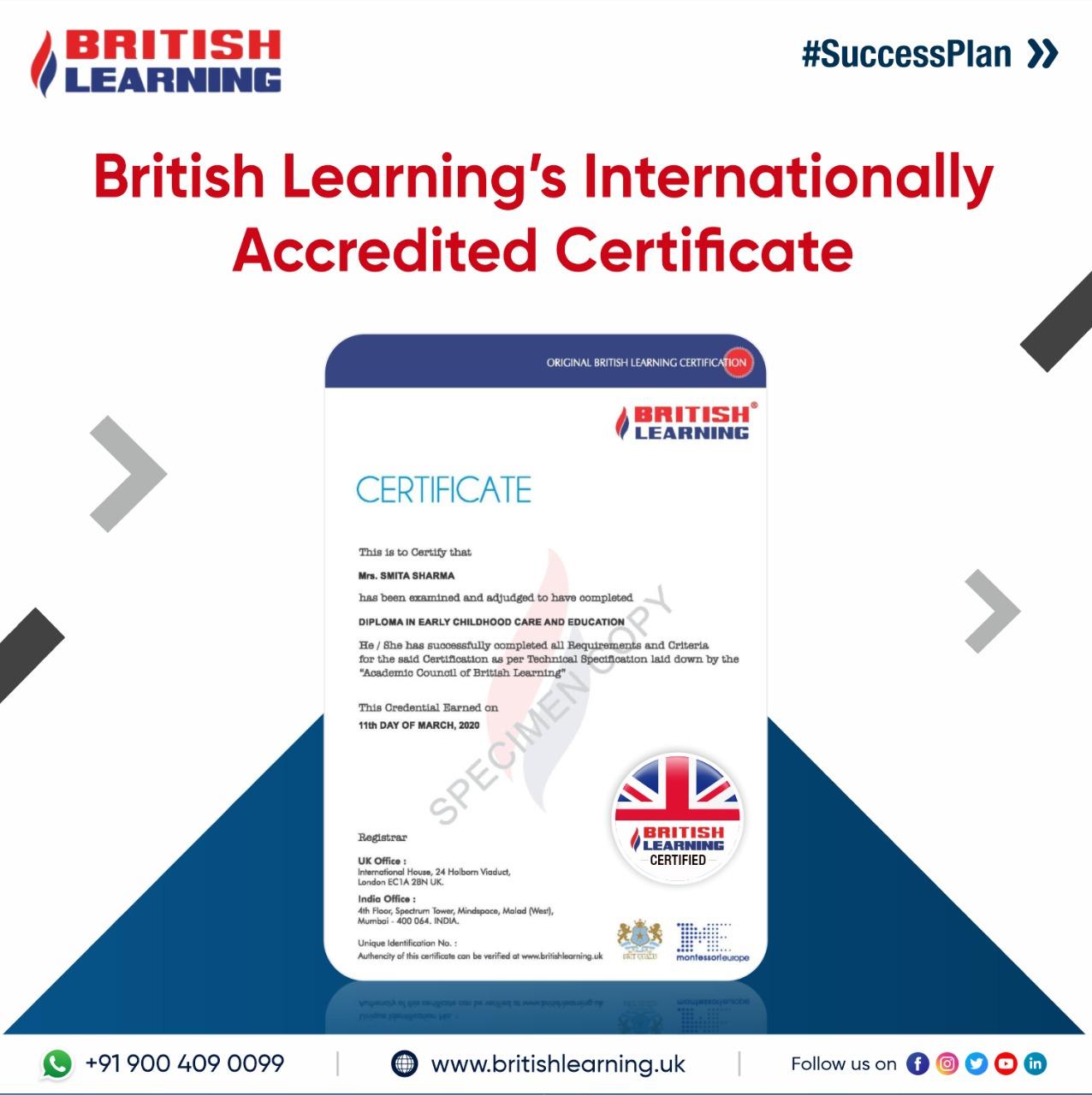 International Certificate Dispatch cover