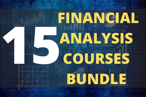 Financial Analysis Courses Bundle (15 Courses) cover