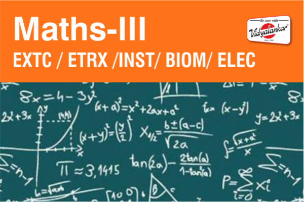 Maths-III (ETRX) cover