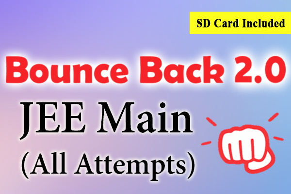 Bounce Back 2.0 Crash Course JEE 2021 (Main) cover