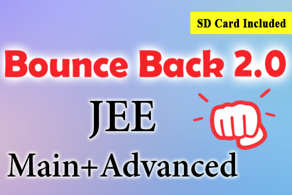 Bounce Back 2.0 Crash Course JEE 2021 (Main + Advanced) cover