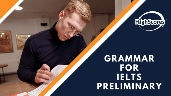 Grammar for IELTS - Preliminary cover