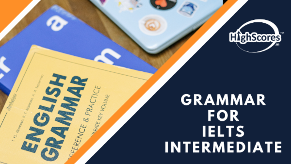 Grammar for IELTS - Intermediate cover