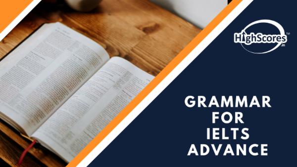 Grammar for IELTS - Advance cover