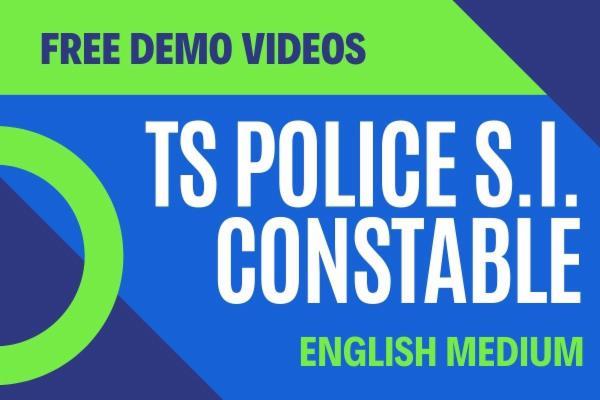 TS SI Constable Demo Videos in English cover