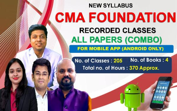 CMA Foundation All Papers - FOR MOBILE APP (ANDROID ONLY) cover