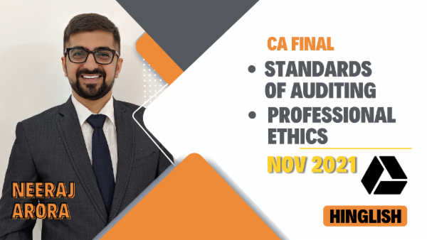 CA Final Standards of Auditing & Professional Ethics - Nov 2021- Google Drive cover