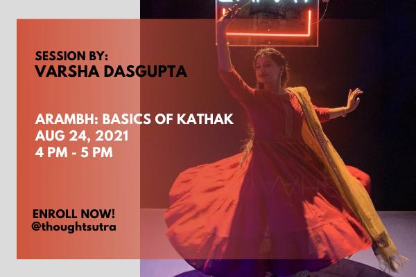 Kathak Workshop cover