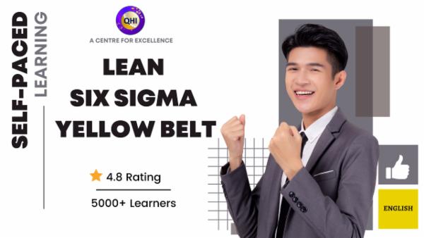 Lean Six Sigma Yellow Belt (LSSYB) -English cover