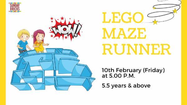 LEGO Maze Runner cover
