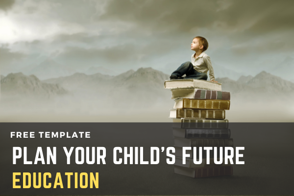 Child Future Education - Financial Planning Template cover