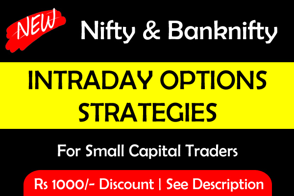 Intraday Options Strategies - Nifty and Banknifty - Level 2 cover
