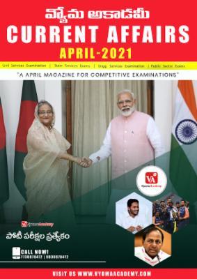 APRIL CURRENT AFFAIRS E-MAGAZINE cover