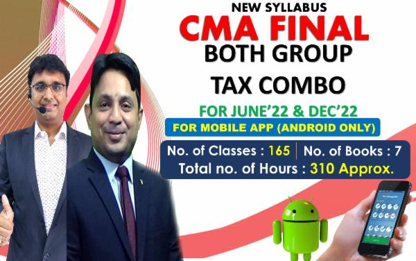 CMA FINAL - BOTH GROUP TAX COMBO - FOR MOBILE APP (ANDROID ONLY) FOR LIVE FACE TO FACE cover