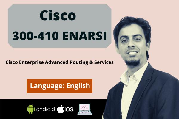 CCNP Enterprise Advanced Routing ENARSI 300-410 cover