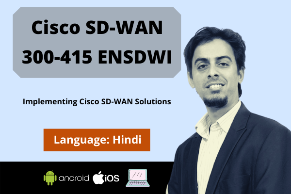 Cisco SD-WAN Operation and Deployment (ENSDW)-Hindi cover