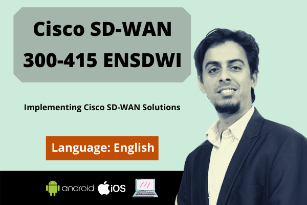 Cisco SD-WAN Operation and Deployment (ENSDW)-English cover