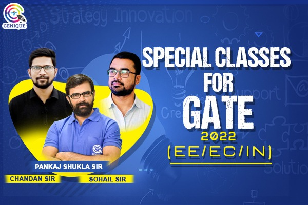 GATE 2022 SPECIAL CLASSES FOR EE/EC/IN cover