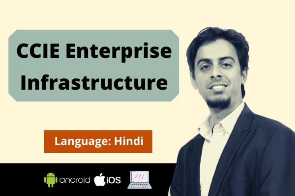 CCIE EI -Enterprise Infrastructure Training-Hindi cover