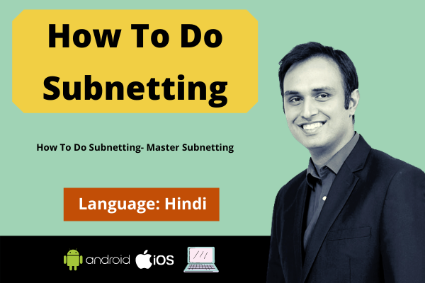 How To Do Subnetting-Master Subnetting -Hindi cover
