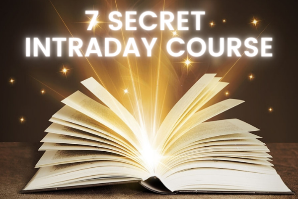 7 Secret Intraday Course for Stock Options, Cash and Future cover