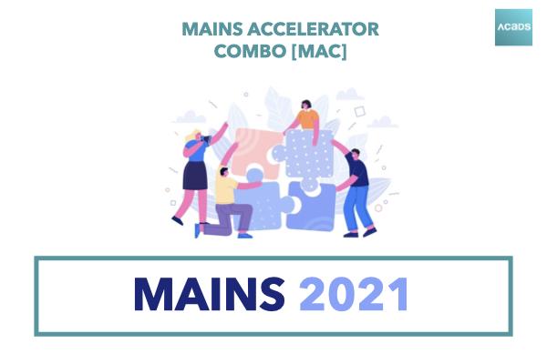 Mains Accelerator Combo [MAC] 2021 cover