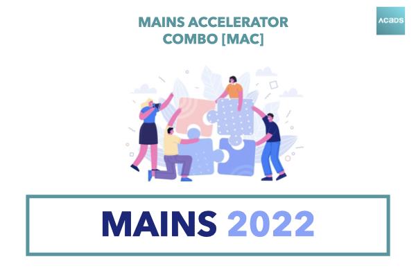 Mains Accelerator Combo [MAC] 2022 cover