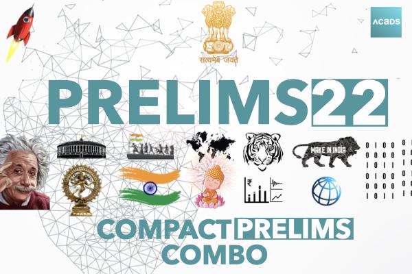 Compact Prelims Combo [CPC] 2022 cover