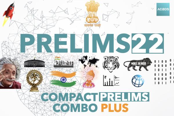 Compact Prelims Combo [CPC] PLUS 2022 cover