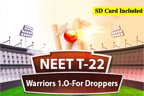 NEET T-22 Warriors 1.0 - For Droppers cover