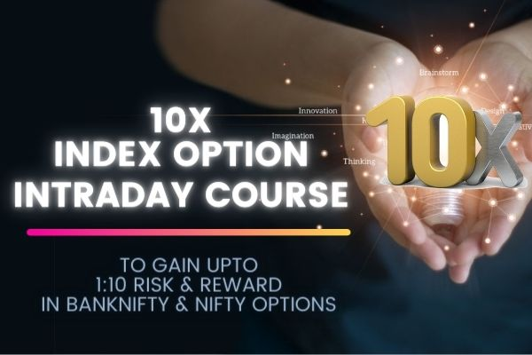 10X Index Option Intraday Course cover