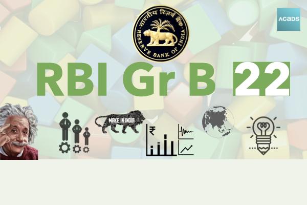 RBI Grade B 2022 cover