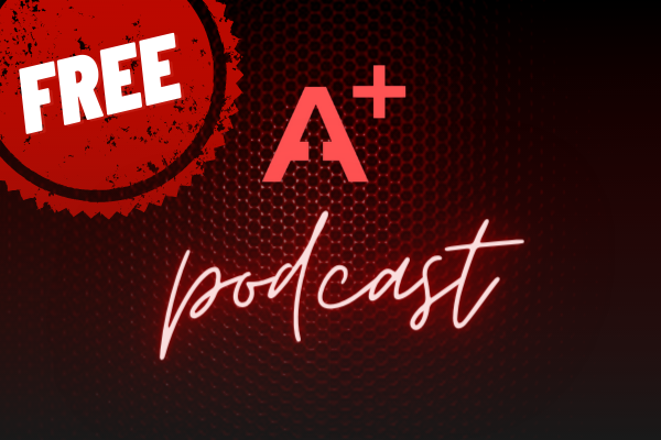 A+ PODCASTS cover
