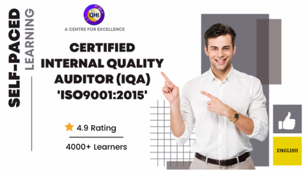 Certified Internal Quality Auditor - ISO9001:2015 - English cover