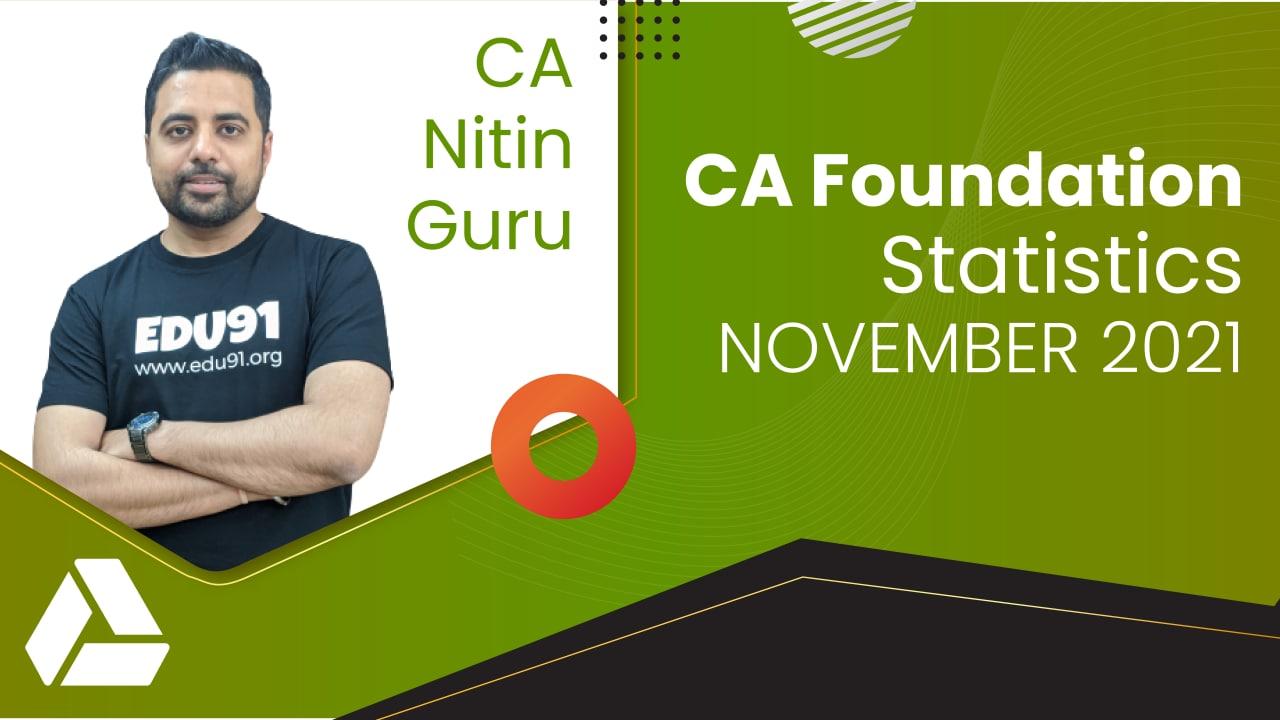 CA Foundation Statistics for Nov 2021 | Google Drive cover