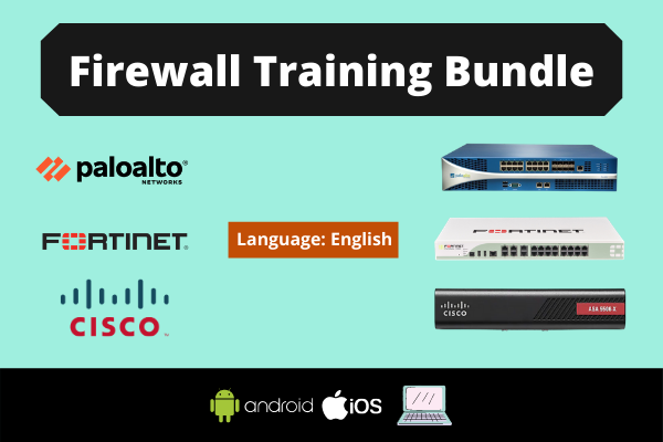 Advanced Firewall 3-in-1 Training Bundle- English cover