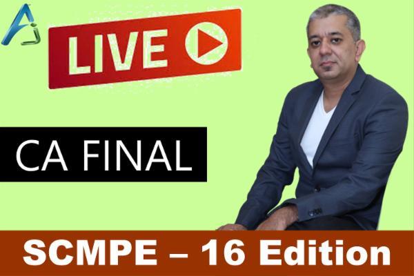 SCMPE - 16 Edition - LIve cover