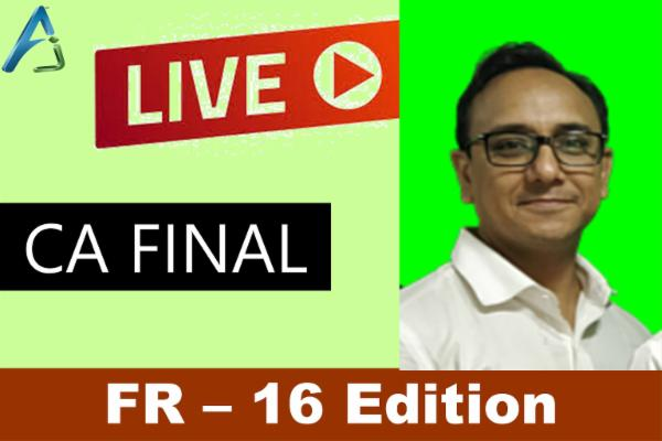 CA FINAL - FR - 16 Edition - Live cover
