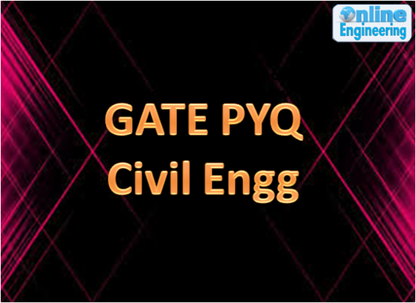 GATE Previous Year Questions- Civil cover