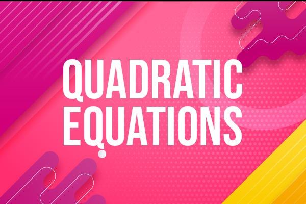 Quadratic Equation cover