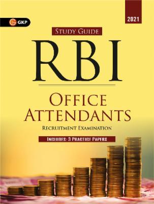 RBI 2021 : Office Attendants - Guide cover